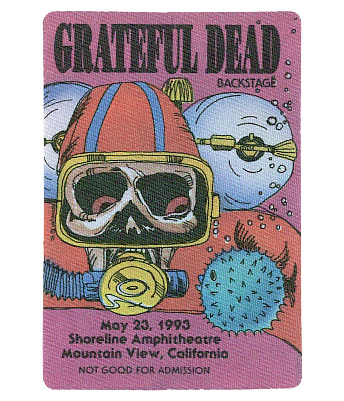 The Vault Grateful Dead 1993 05-23 Backstage Pass Liquid Blue