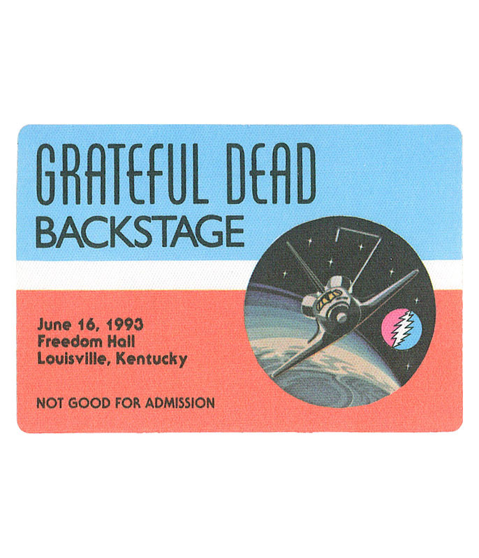 GRATEFUL DEAD 1993 06-16 BACKSTAGE PASS