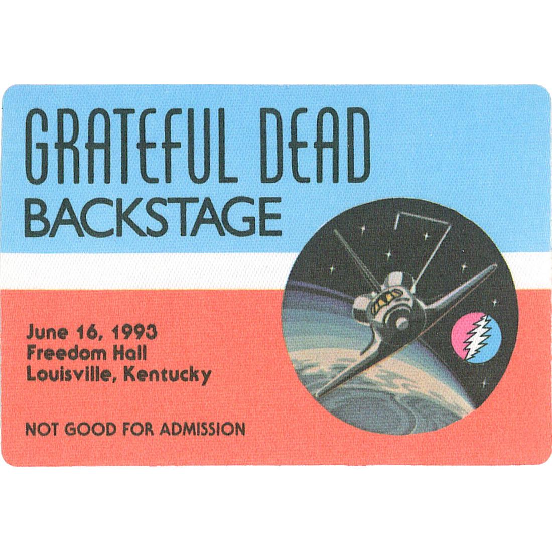 Grateful Dead 1993 06-16 Backstage Pass