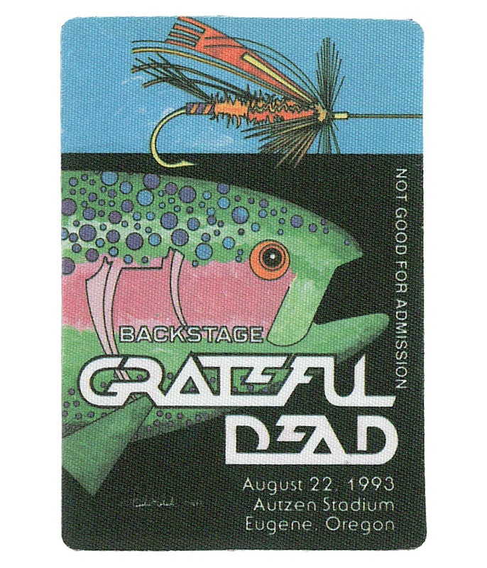GRATEFUL DEAD 1993 08-22 BACKSTAGE PASS