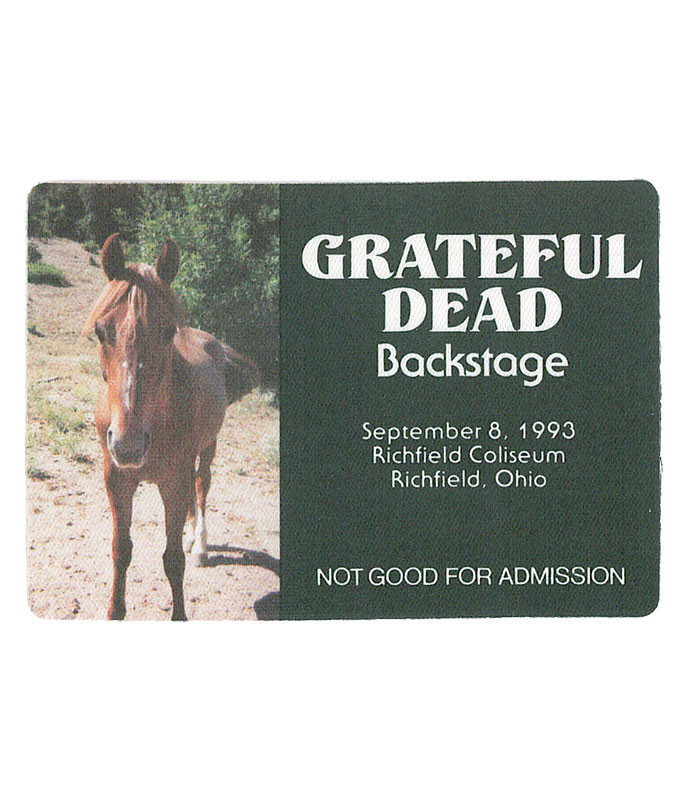 GRATEFUL DEAD 1993 09-08 BACKSTAGE PASS