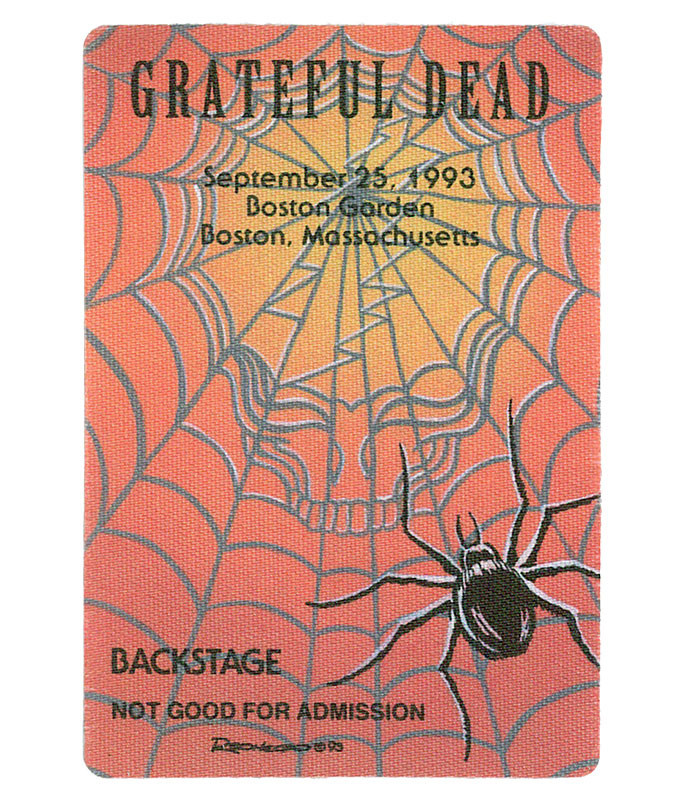 GRATEFUL DEAD 1993 09-25 BACKSTAGE PASS