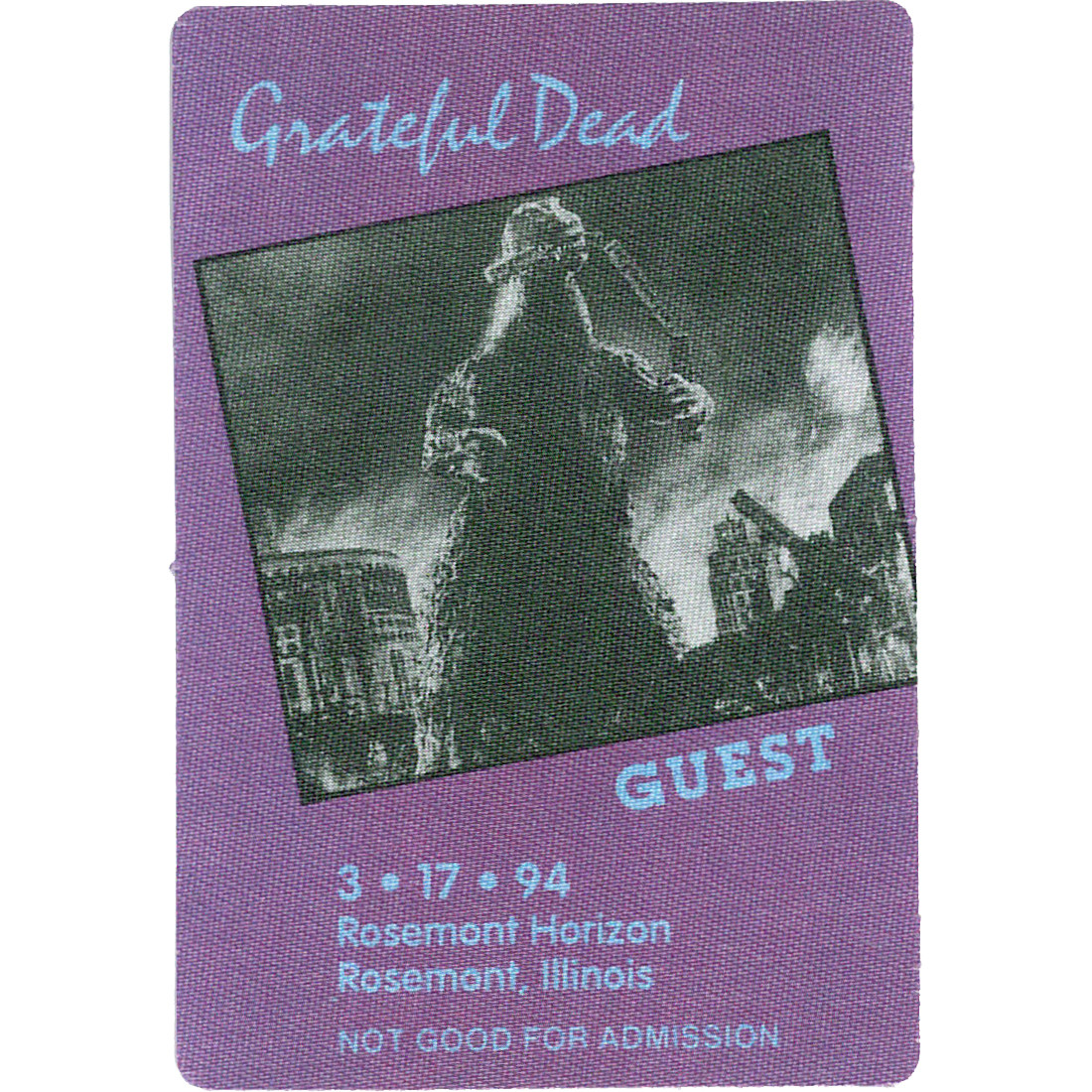 Grateful Dead 1994 03-17 Backstage Pass