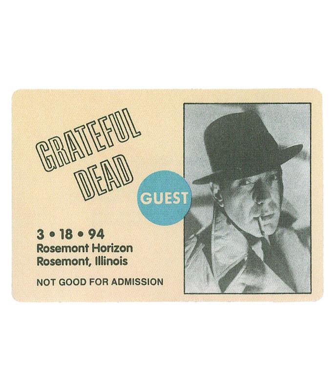 The Vault Grateful Dead 1994 03-18 Backstage Pass Liquid Blue