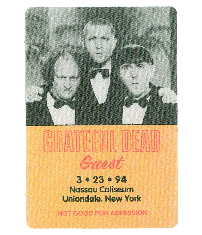 The Vault Grateful Dead 1994 03-23 Backstage Pass Liquid Blue
