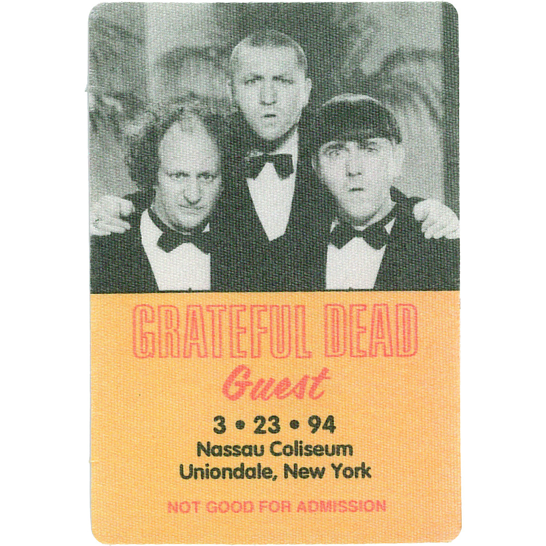 Grateful Dead 1994 03-23 Backstage Pass