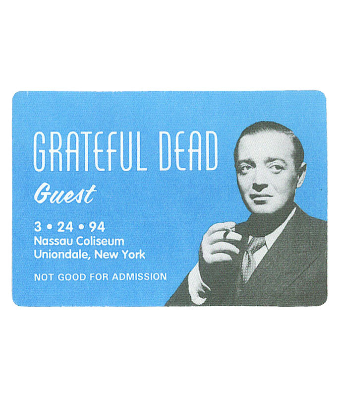 The Vault Grateful Dead 1994 03-24 Backstage Pass Liquid Blue