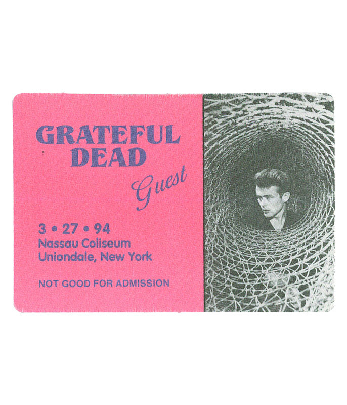 GRATEFUL DEAD 1994 03-27 BACKSTAGE PASS