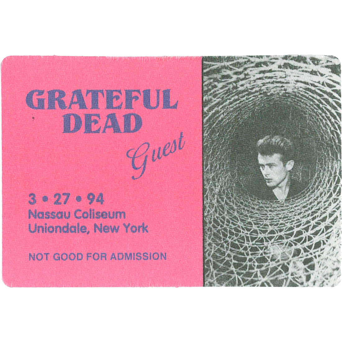 Grateful Dead 1994 03-27 Backstage Pass