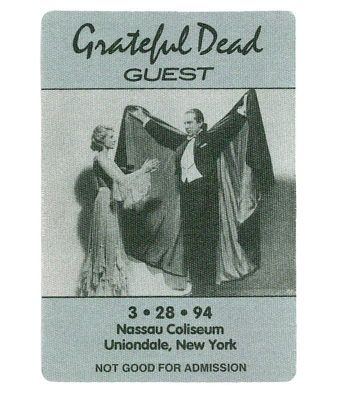 GRATEFUL DEAD 1994 03-28 BACKSTAGE PASS