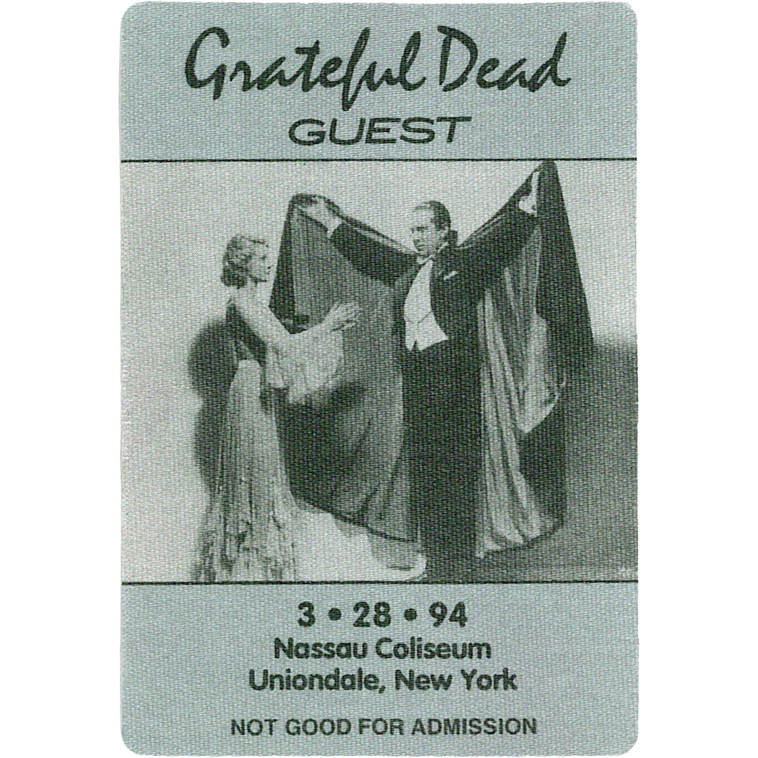 Grateful Dead 1994 03-28 Backstage Pass