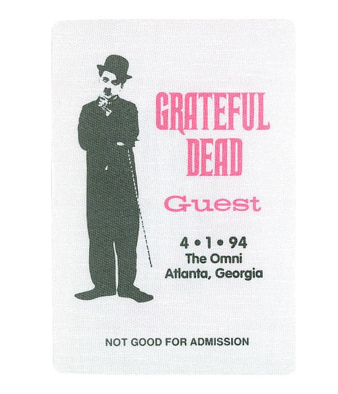 GRATEFUL DEAD 1994 04-01 BACKSTAGE PASS