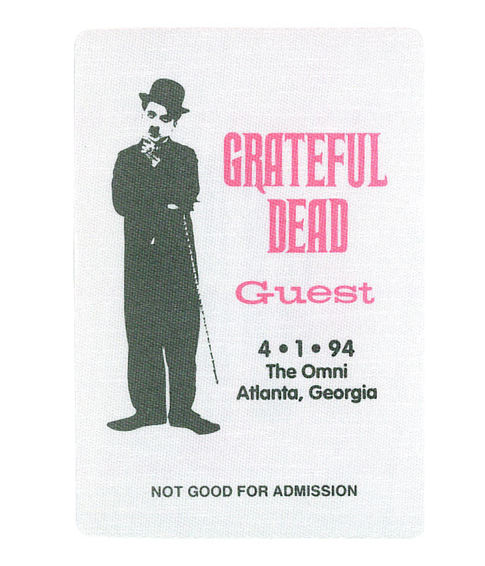 The Vault Grateful Dead 1994 04-01 Backstage Pass Liquid Blue