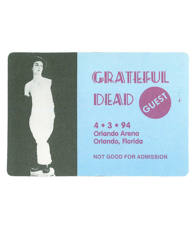 The Vault Grateful Dead 1994 04-03 Backstage Pass Liquid Blue