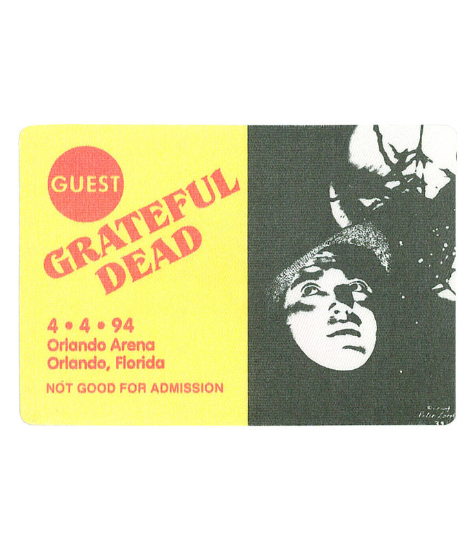 The Vault Grateful Dead 1994 04-04 Backstage Pass Liquid Blue