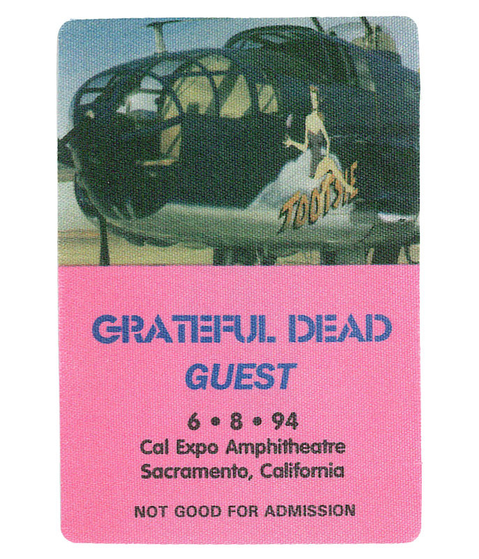 GRATEFUL DEAD 1994 06-08 BACKSTAGE PASS