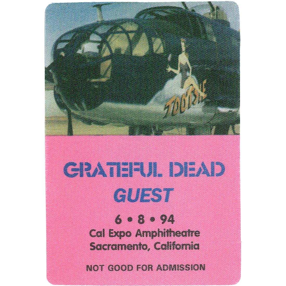 Grateful Dead 1994 06-08 Backstage Pass