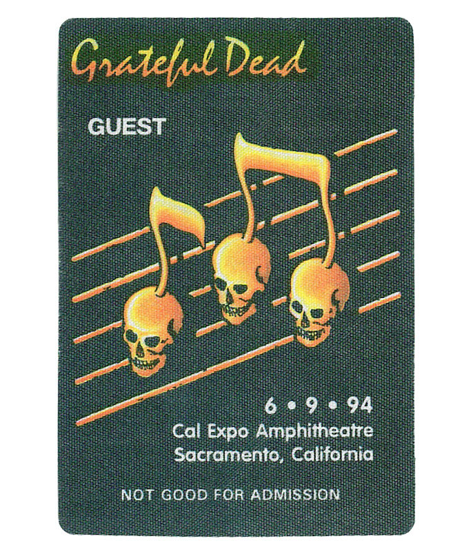 Grateful Dead 1994 06-09 Backstage Pass