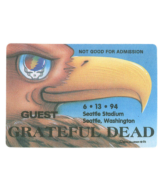 The Vault Grateful Dead 1994 06-13 Backstage Pass Liquid Blue