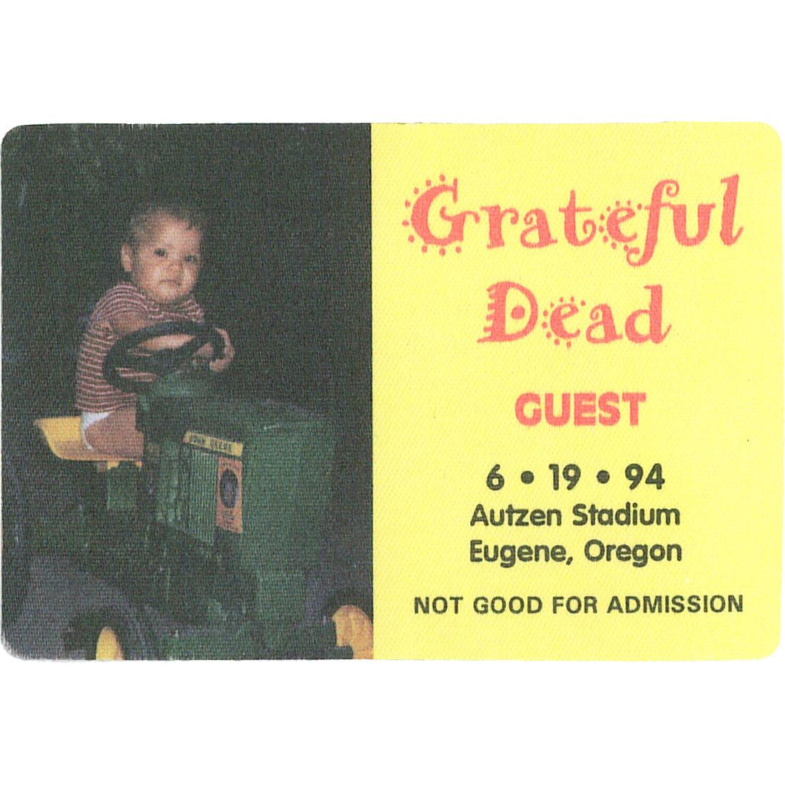 Grateful Dead 1994 06-19 Backstage Pass