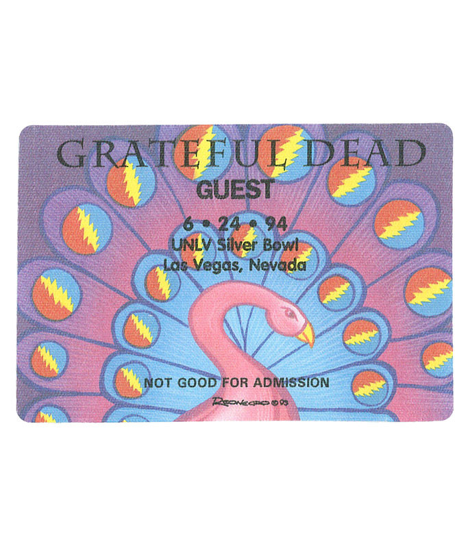 The Vault Grateful Dead 1994 06-24 Backstage Pass Liquid Blue