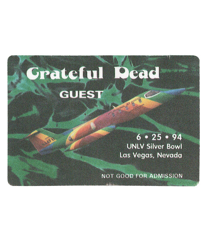 Grateful Dead 1994 06-25 Backstage Pass