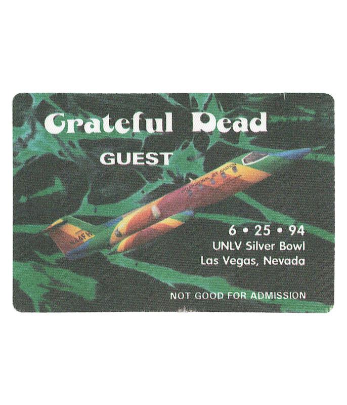 The Vault Grateful Dead 1994 06-25 Backstage Pass Liquid Blue