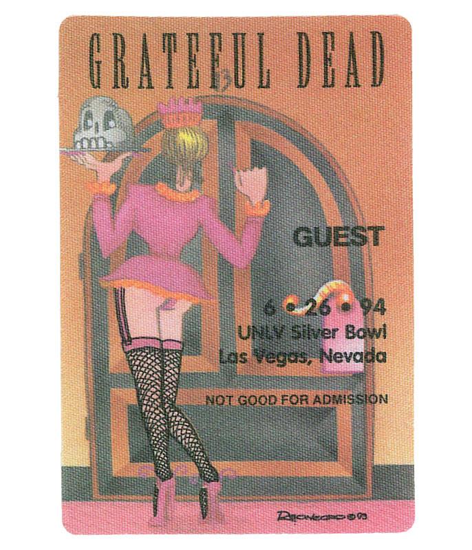 The Vault Grateful Dead 1994 06-26 Backstage Pass Liquid Blue