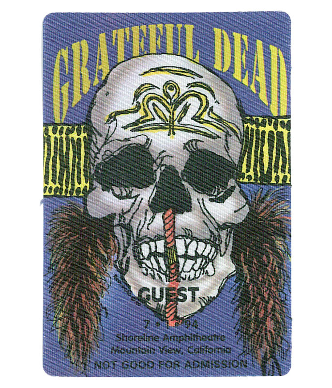 The Vault Grateful Dead 1994 07-01 Backstage Pass Liquid Blue