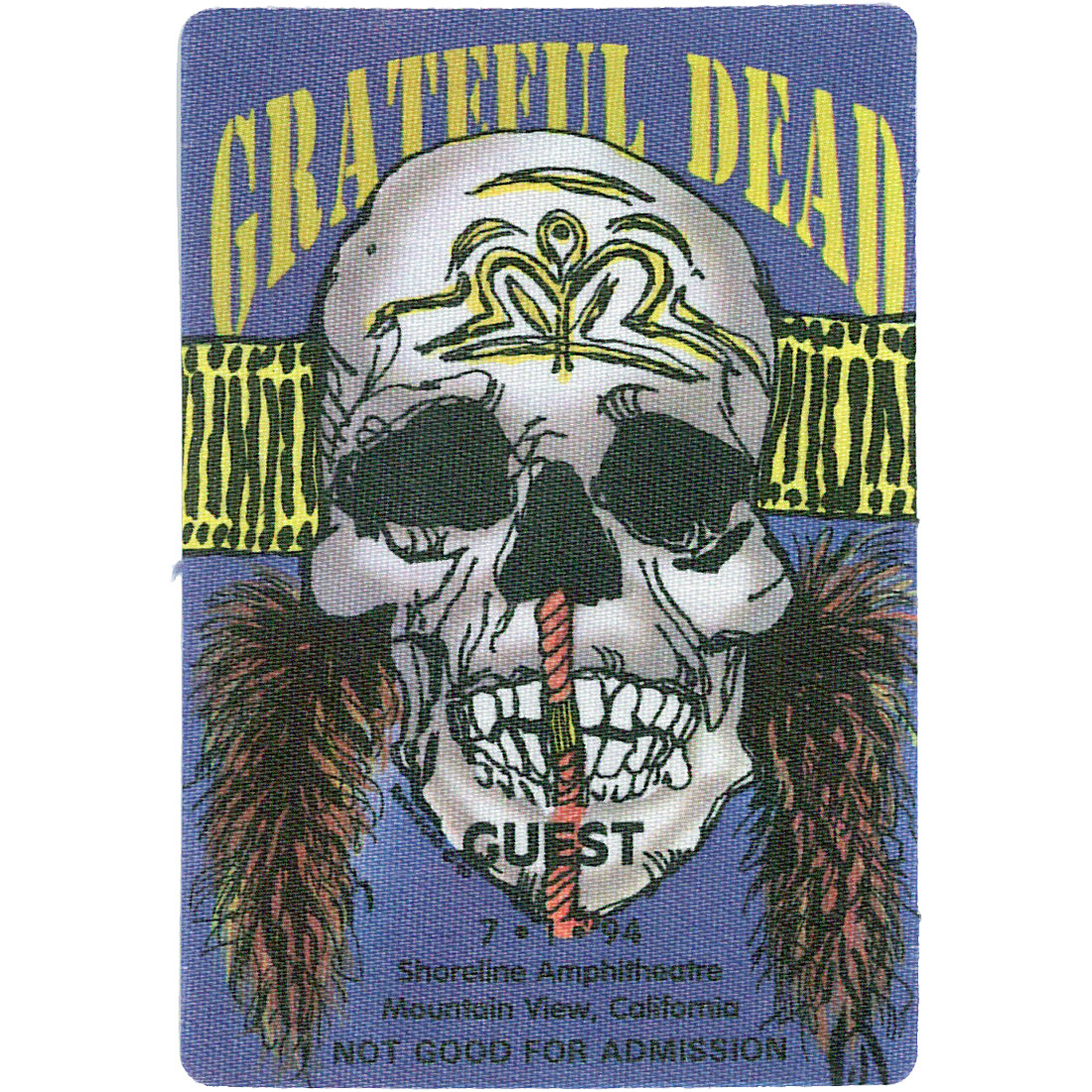 Grateful Dead 1994 07-01 Backstage Pass