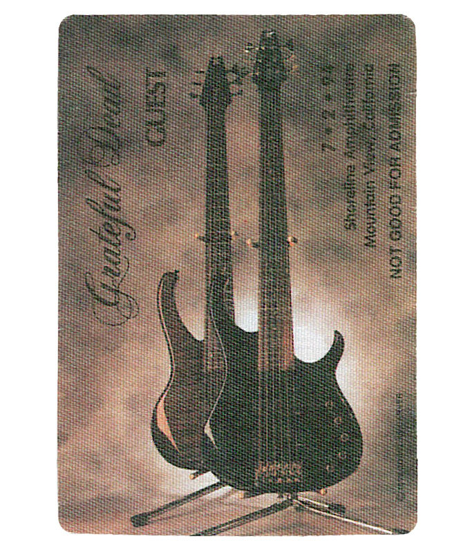GRATEFUL DEAD 1994 07-02 BACKSTAGE PASS