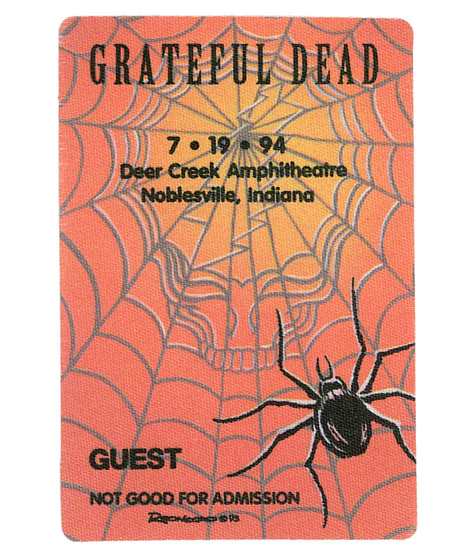 The Vault Grateful Dead 1994 07-19 Backstage Pass Liquid Blue
