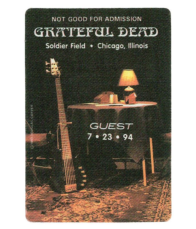The Vault Grateful Dead 1994 07-23 Backstage Pass Liquid Blue