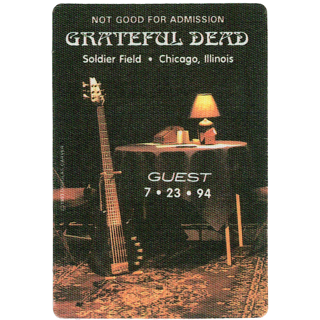 Grateful Dead 1994 07-23 Backstage Pass