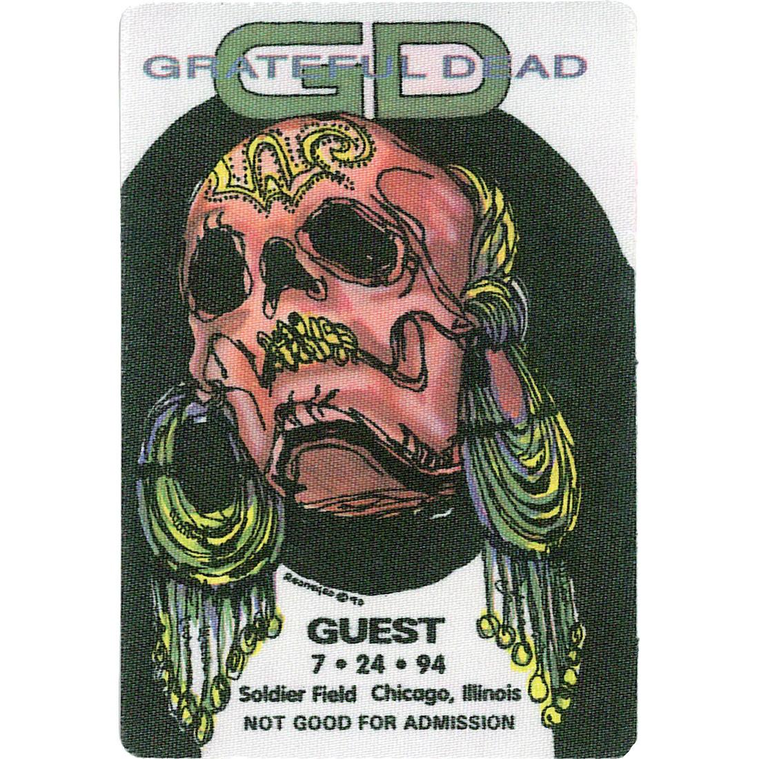 Grateful Dead 1994 07-24 Backstage Pass