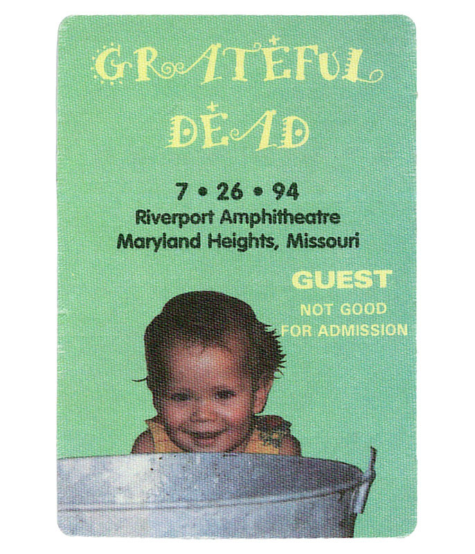 GRATEFUL DEAD 1994 07-26 BACKSTAGE PASS