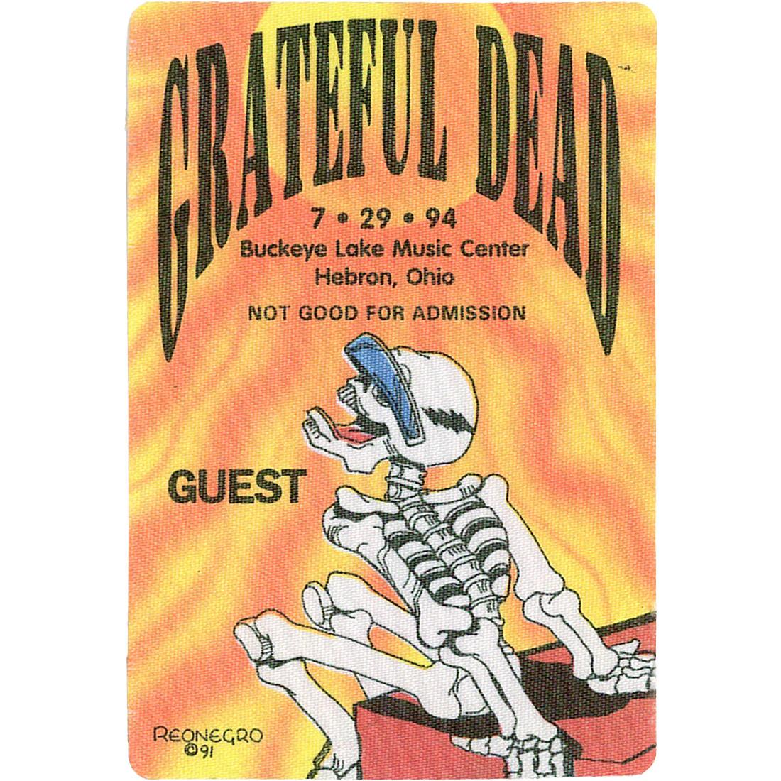 Grateful Dead 1994 07-29 Backstage Pass