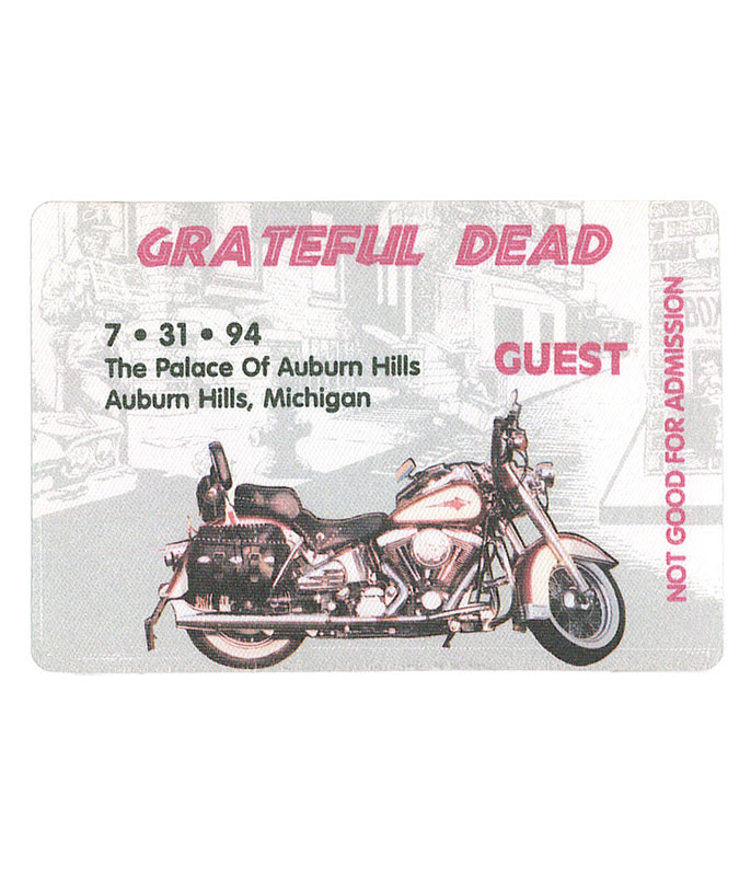 GRATEFUL DEAD 1994 07-31 BACKSTAGE PASS