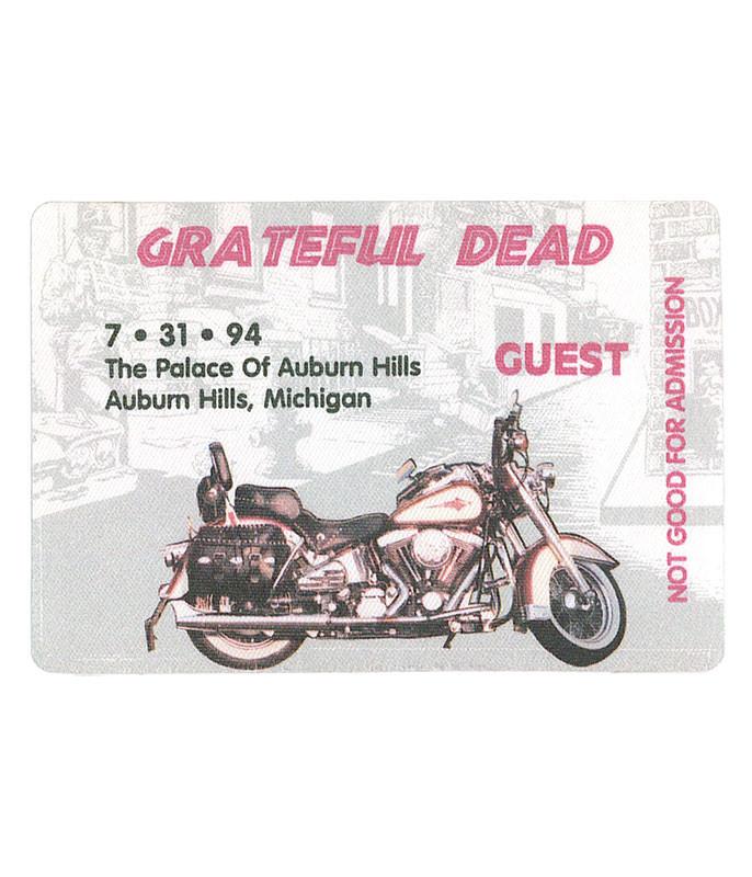 The Vault Grateful Dead 1994 07-31 Backstage Pass Liquid Blue