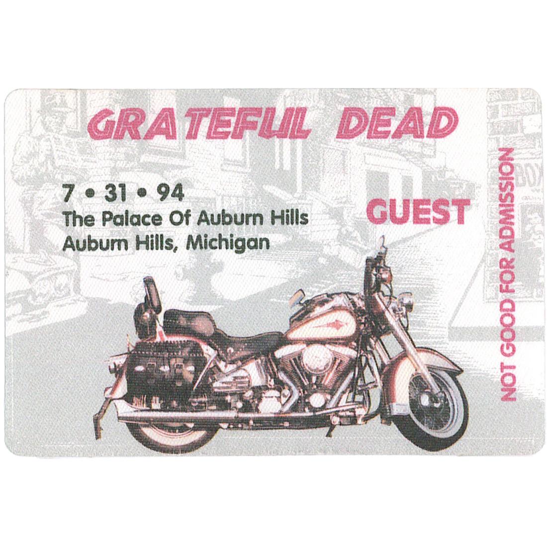 Grateful Dead 1994 07-31 Backstage Pass