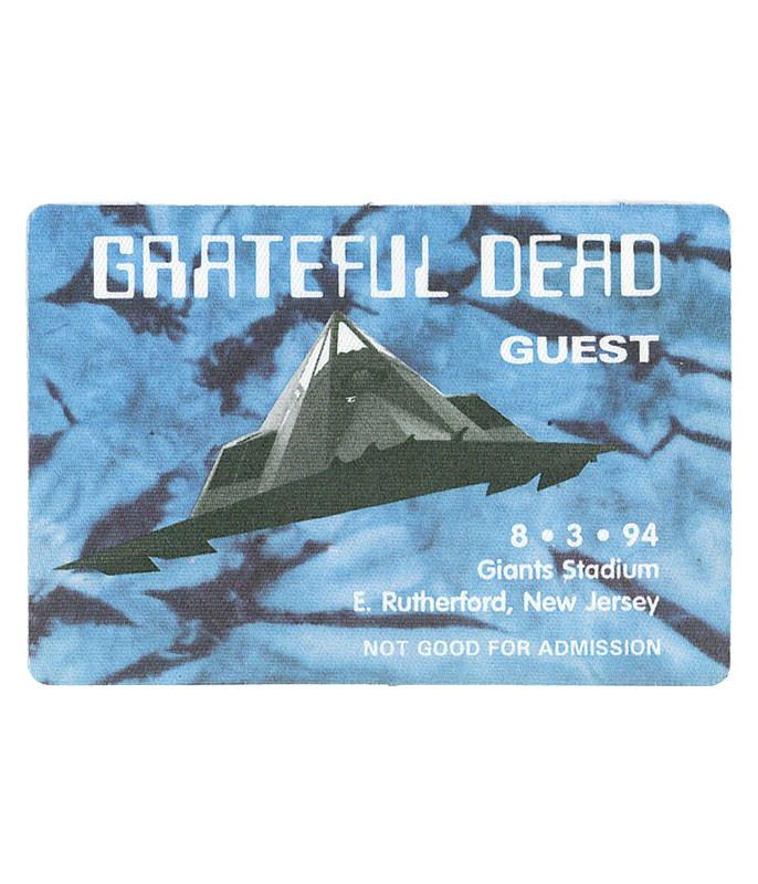 Grateful Dead 1994 08-03 Backstage Pass