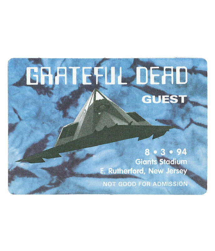 The Vault Grateful Dead 1994 08-03 Backstage Pass Liquid Blue