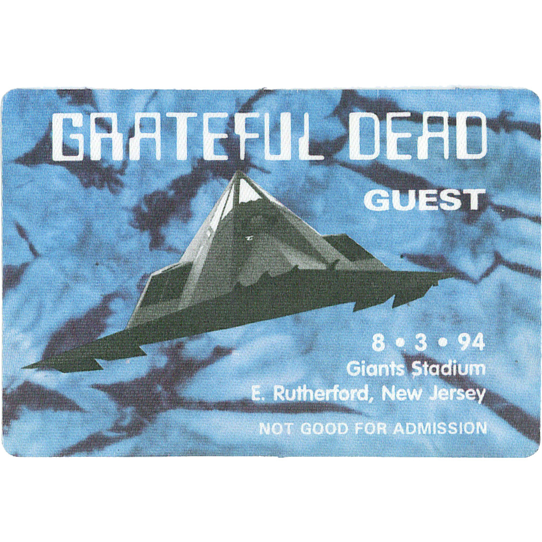 Grateful Dead 1994 08-03 Backstage Pass