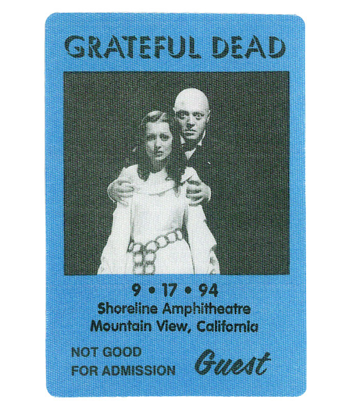 The Vault Grateful Dead 1994 09-17 Backstage Pass Liquid Blue
