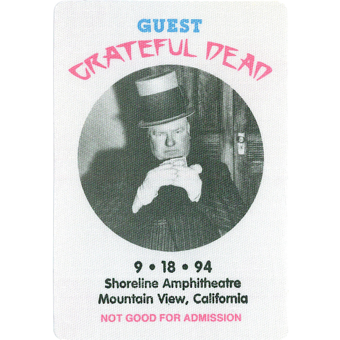 Grateful Dead 1994 09-18 Backstage Pass