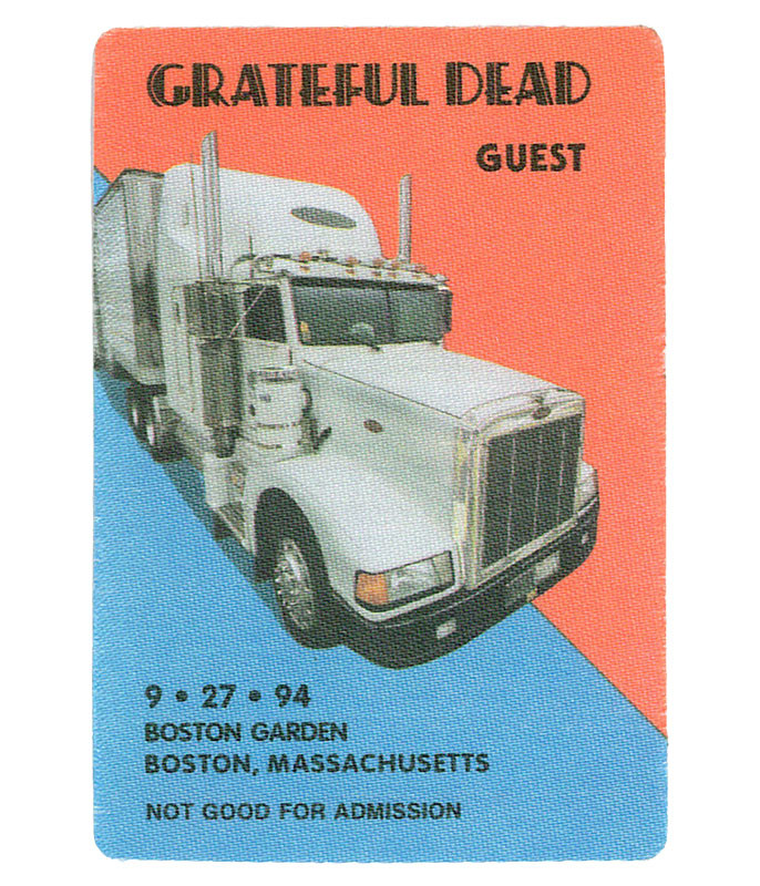 GRATEFUL DEAD 1994 09-27 BACKSTAGE PASS