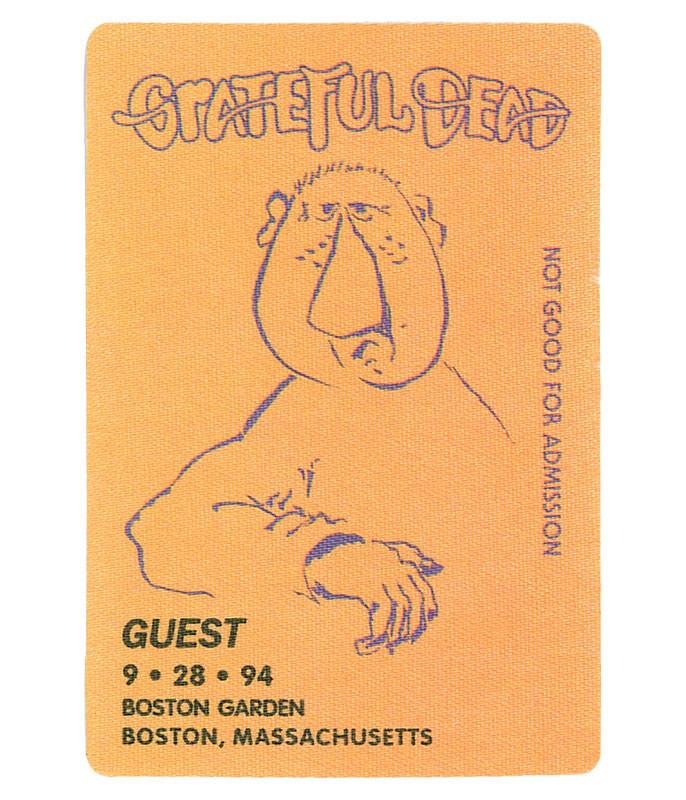 Grateful Dead 1994 09-28 Backstage Pass
