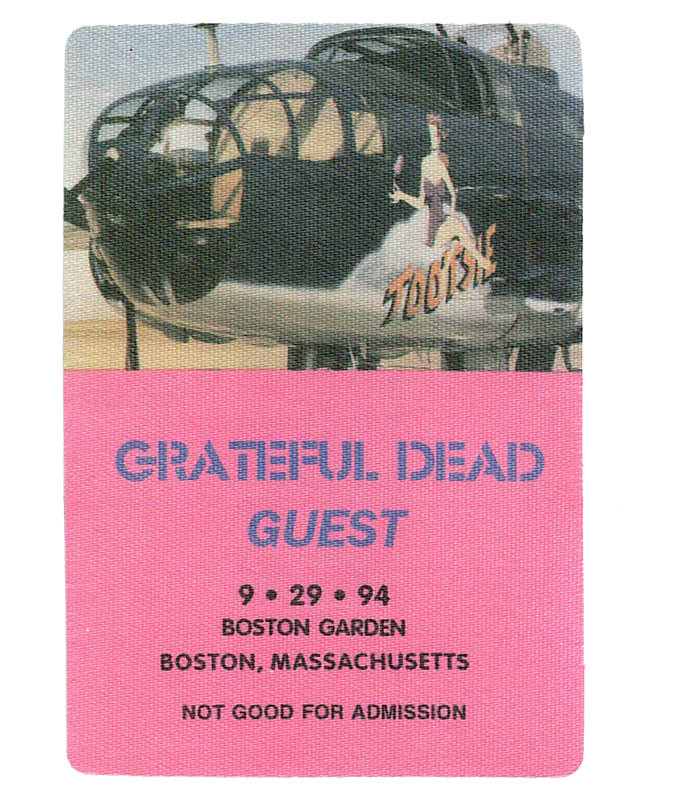 The Vault Grateful Dead 1994 09-29 Backstage Pass Liquid Blue