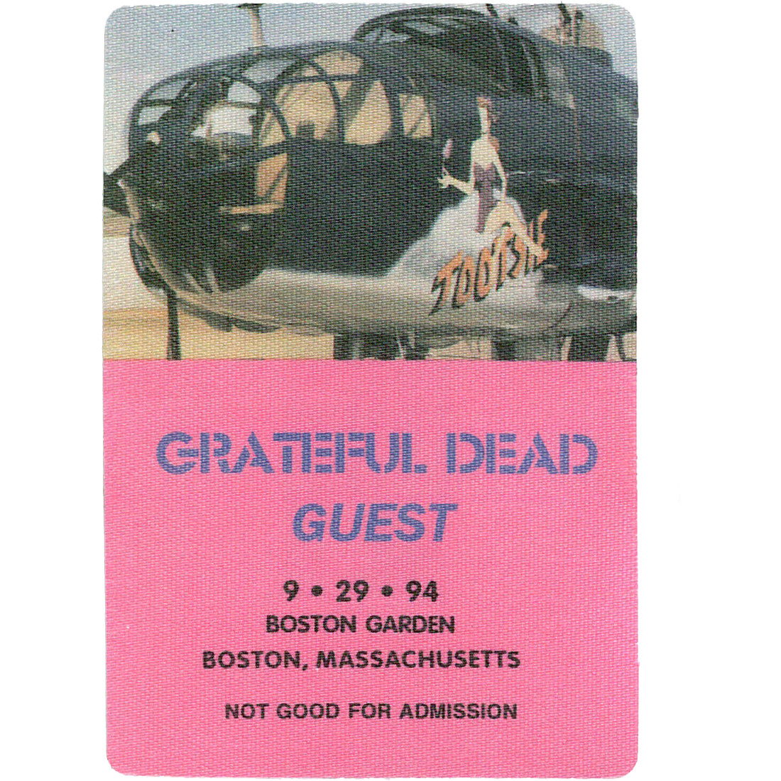 Grateful Dead 1994 09-29 Backstage Pass