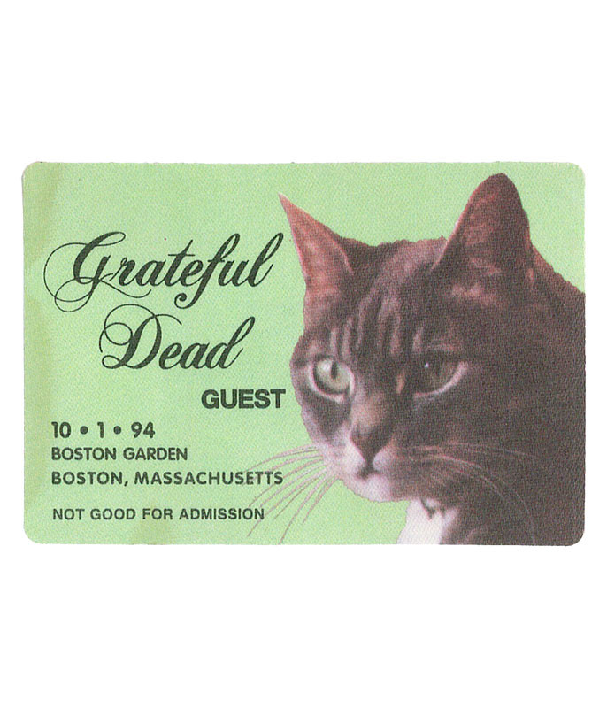 GRATEFUL DEAD 1994 10-01 BACKSTAGE PASS
